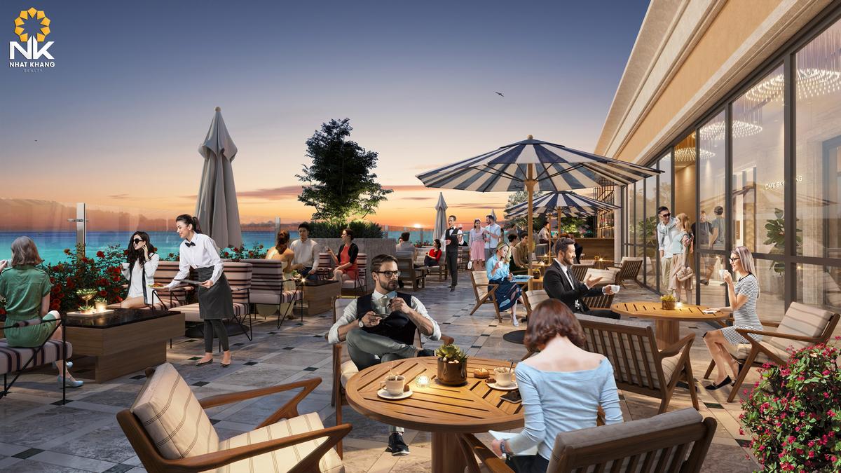 Nhà hàng tại Sun Grand City Hillside Residences